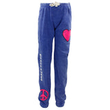 Sweatpant with Peace Love Heart