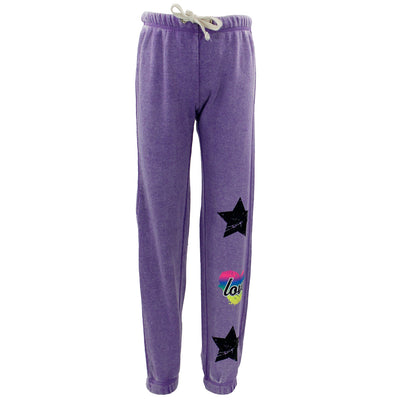 Sweatpant with Star Heart Star