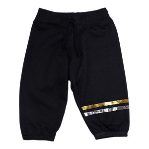 Jogpant with Gold/Slv Stripe