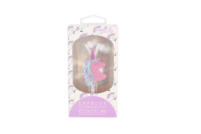 Unicorn Retractable Ear Buds