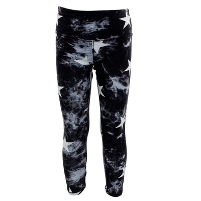Tye Dye Legging with Star Print