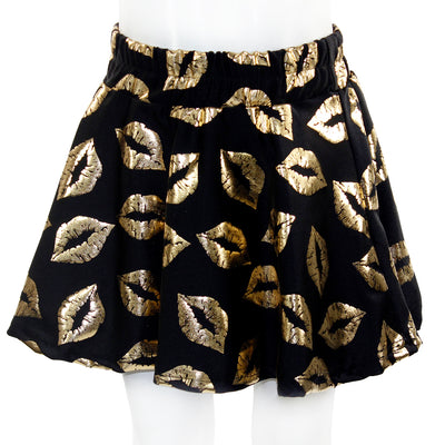 Skirt with Gold Lips