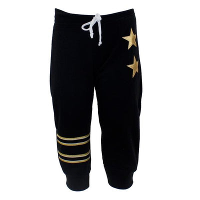 Sweatpant with Stripes and Star