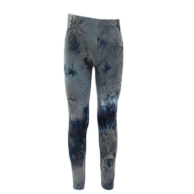 Grey/Black Tye Dye Legging