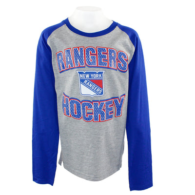 Rangers Assisted Long Sleeve Fashion Tee
