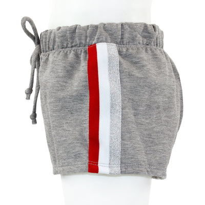Short with Red & Silver Stripe