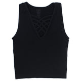 Sleeveless with Criss Cross Front