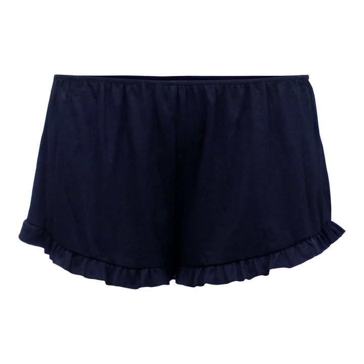 Solid Ruffle Short