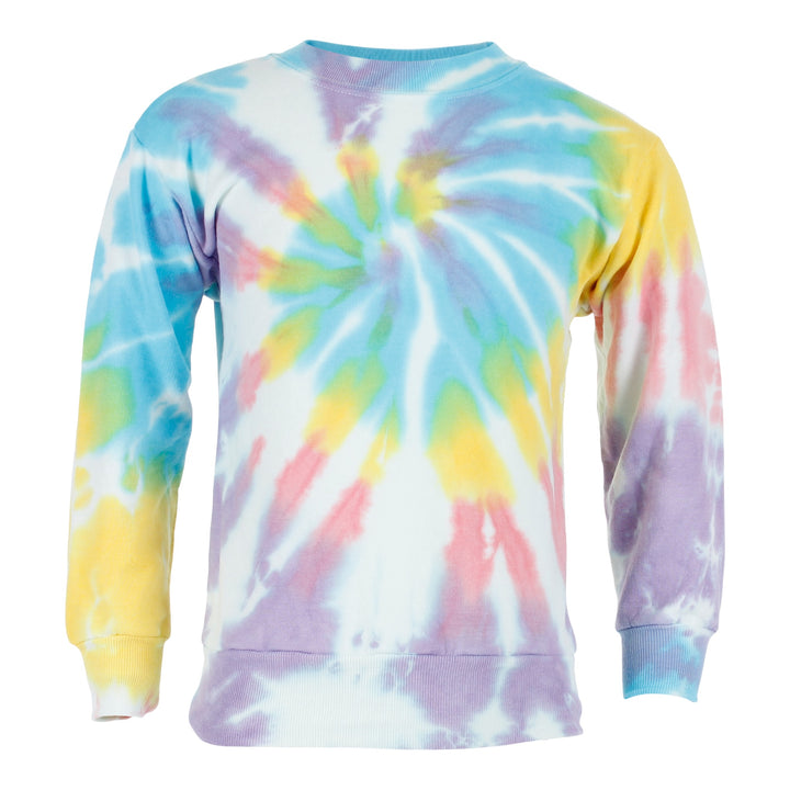 Tie Dye Youth Crewneck