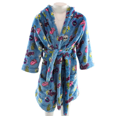 Patch Robe Plush Fall