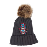 Pom Beanie Hamsa Dazzle - Fits Sizes 7-14 & Junior
