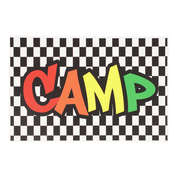 Vans Checker Camp Postcard