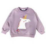 Long Sleeve Unicorn Sweatshirt