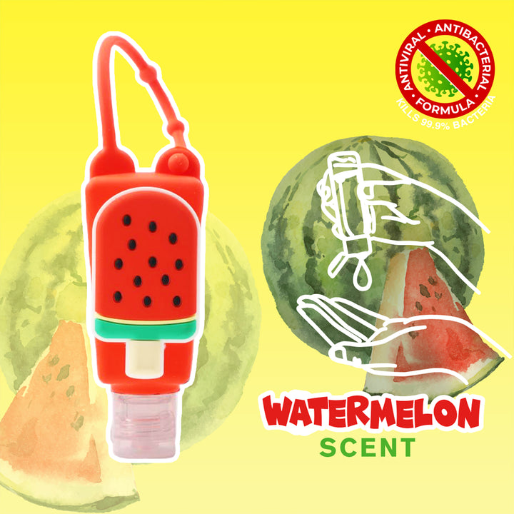 Watermelon Popsicle Poppin Hand Sanitizer Watermelon Scent