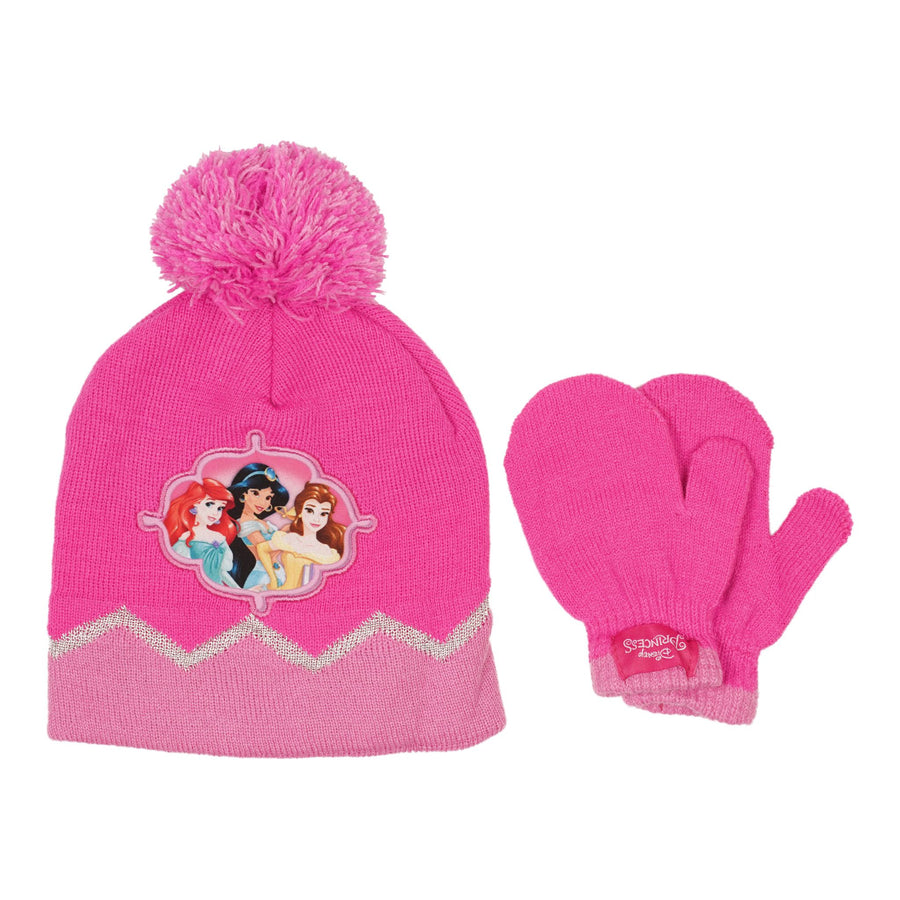 Princess Hat and Mitten Set