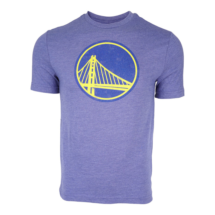 Warriors Distressed Logo Triblend Tee