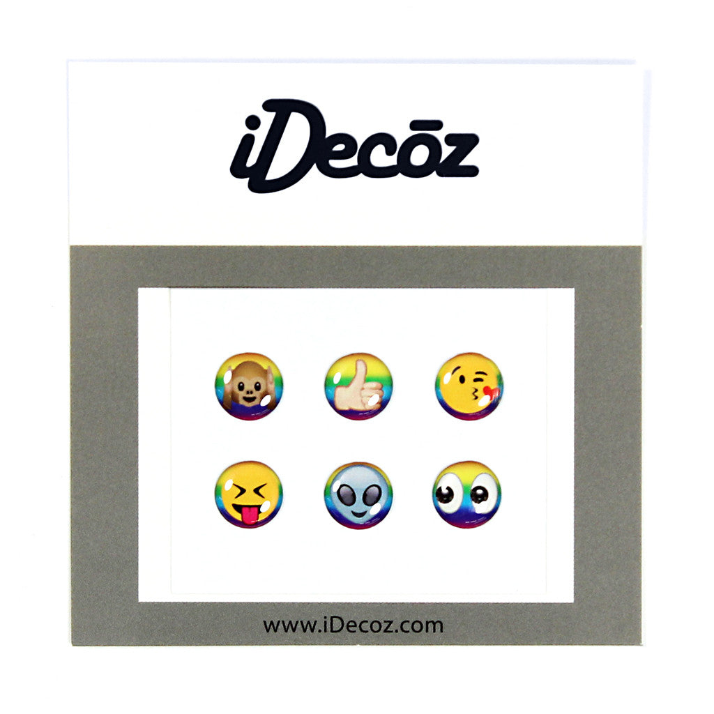 Rainbow Emoji Home Buttons