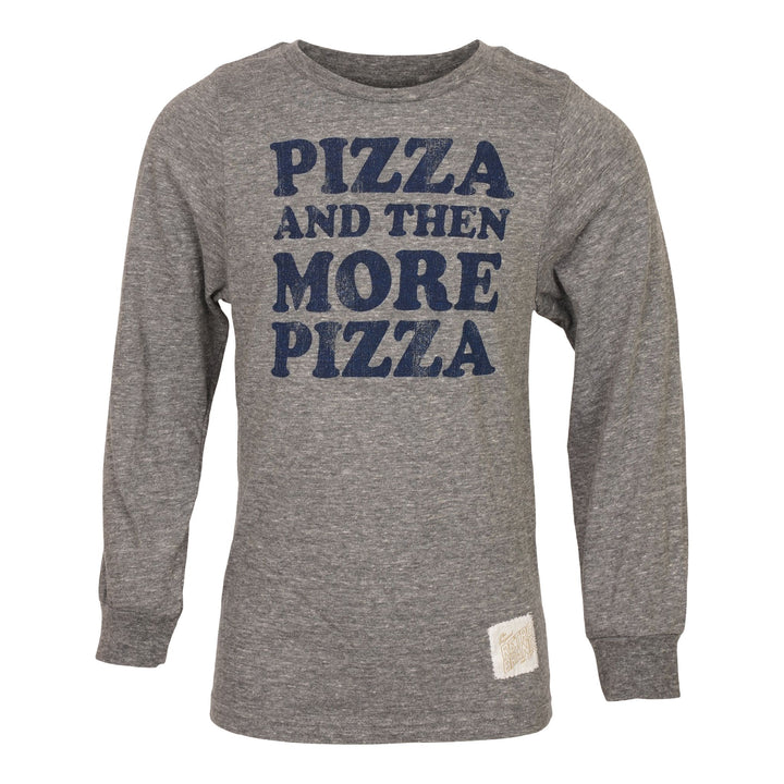 Pizza & Then More Pizza Long Sleeve Tee