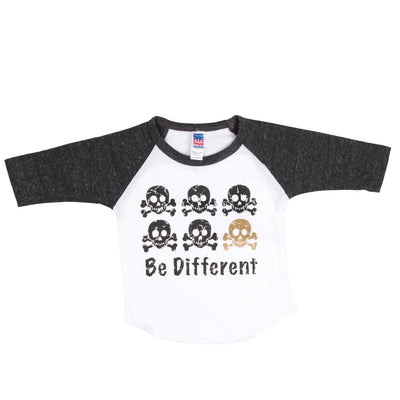 Raglan White/Onyx Be Different
