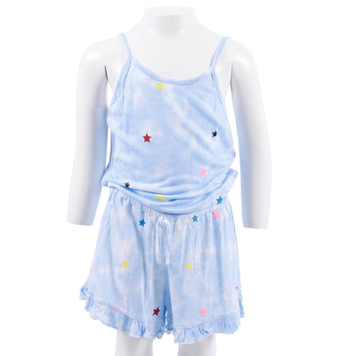 Tye Dye Romper with Stars