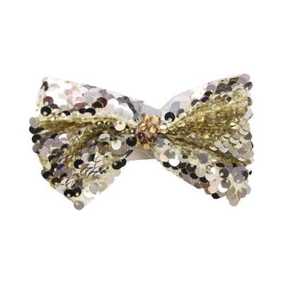 Headband with Reversible Sequins Bow