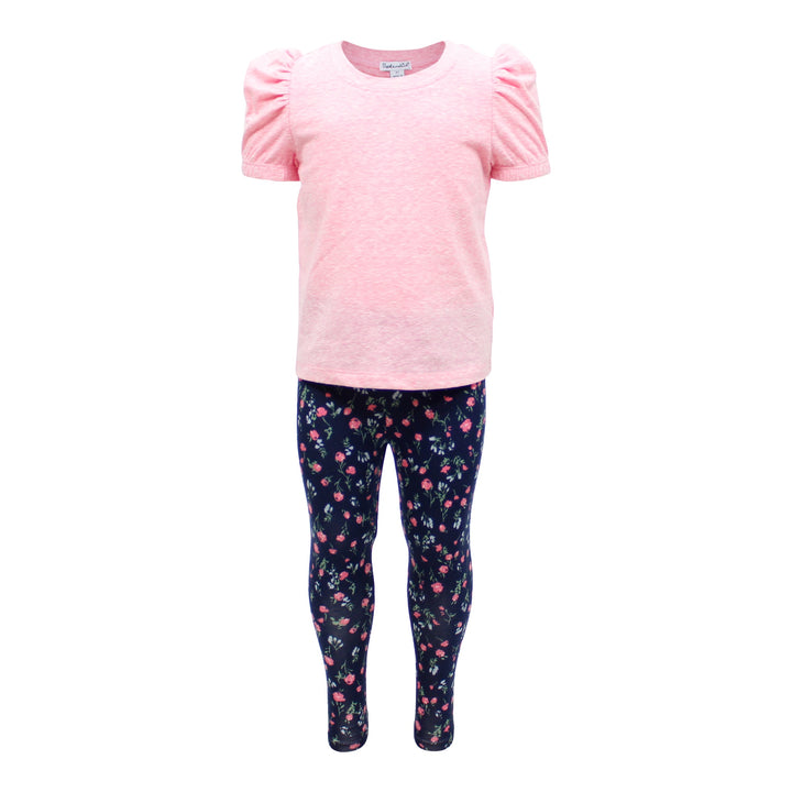 2pc Floral Legging Set