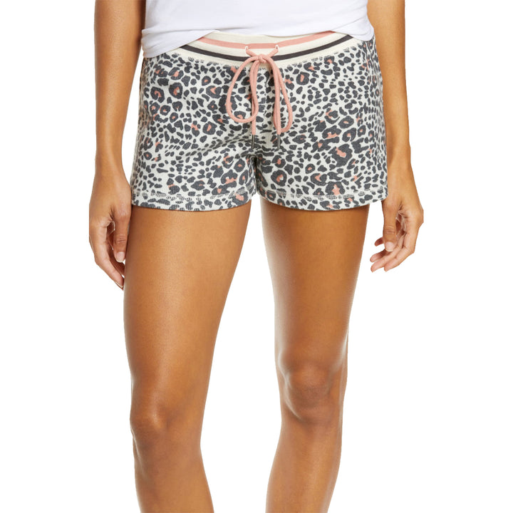 Animal Print Thermal Short