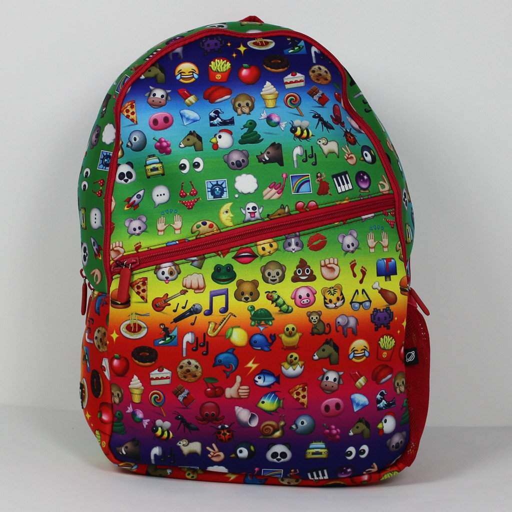 Rainbow Emoji Backpack