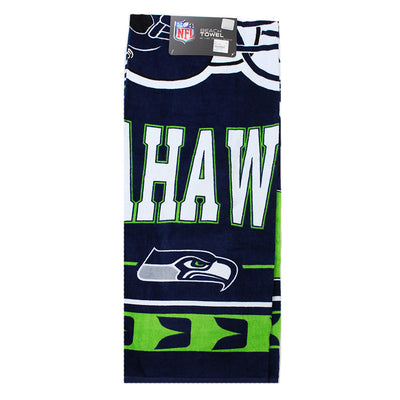 Seahawks Beach Towel