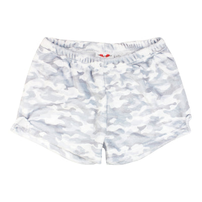 Grey Camo Lounge Short