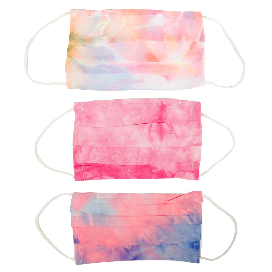 3 Pack Tie Dye Mask Adult