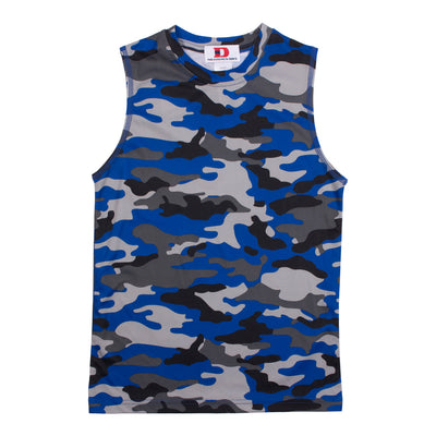 Camo Dri Fit Muscle Tee