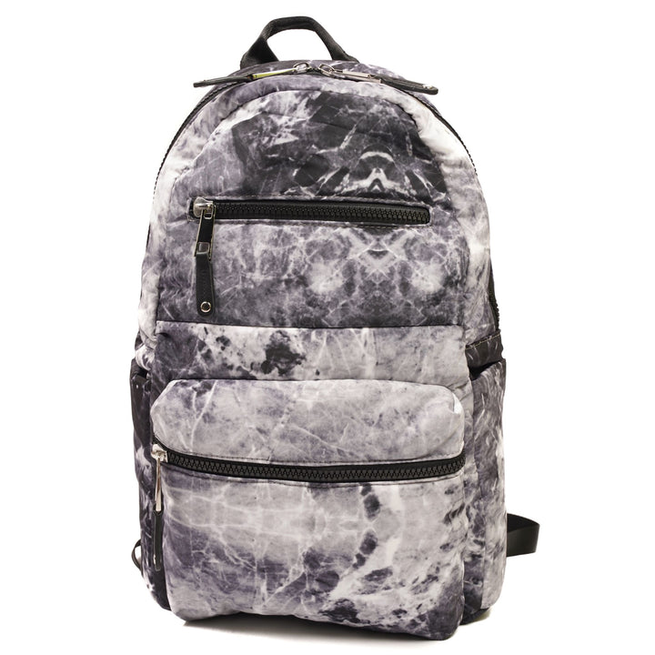 Marble Puffer Backpack
