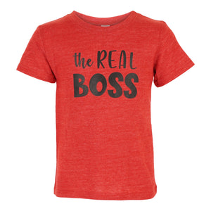The Real Boss Tee