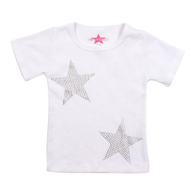 Short Sleeve Tee with Stars