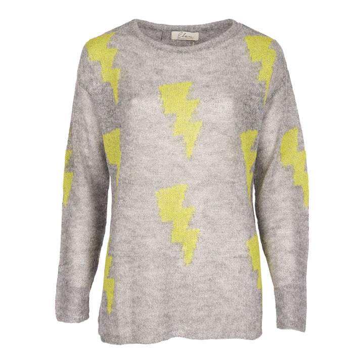 Lightning Bolt Crew Sweater