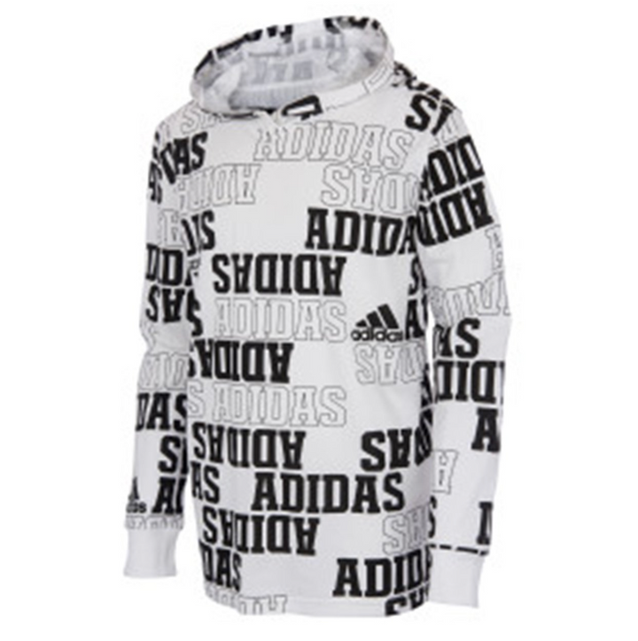 All Over Print Collegiate Hooded Tee