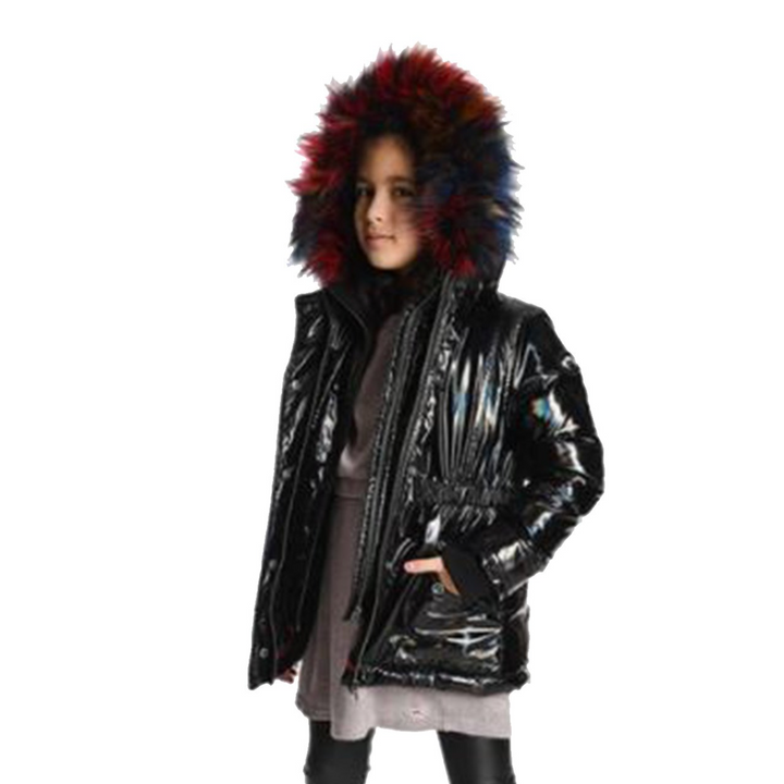 Middie Digital Puffer Coat