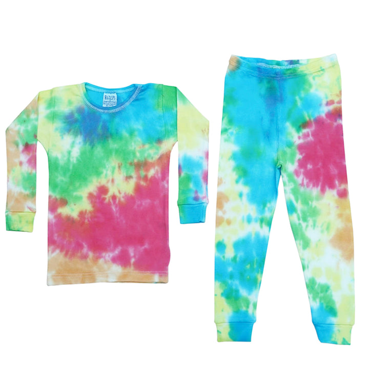 Zoe Tie Dye Cotton PJ Set