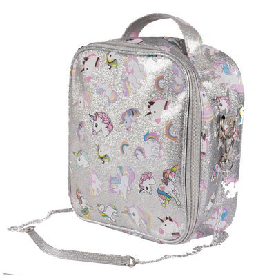 Glitter Unicorn Lunch Bag