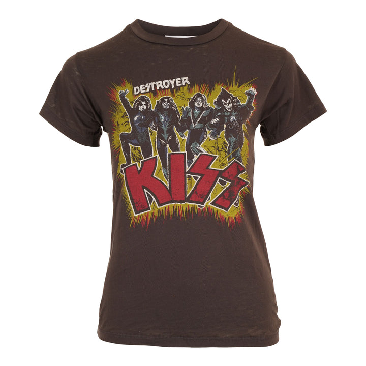 Short Sleeve Kiss Alive Tour Burnout Tee