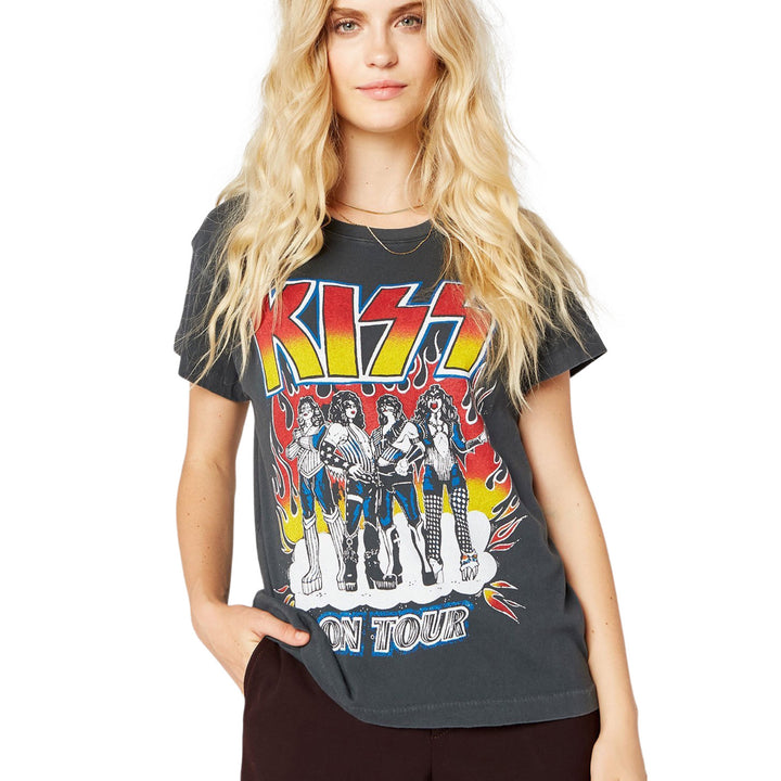 Short Sleeve KISS Heavens of Fire Tour Tee