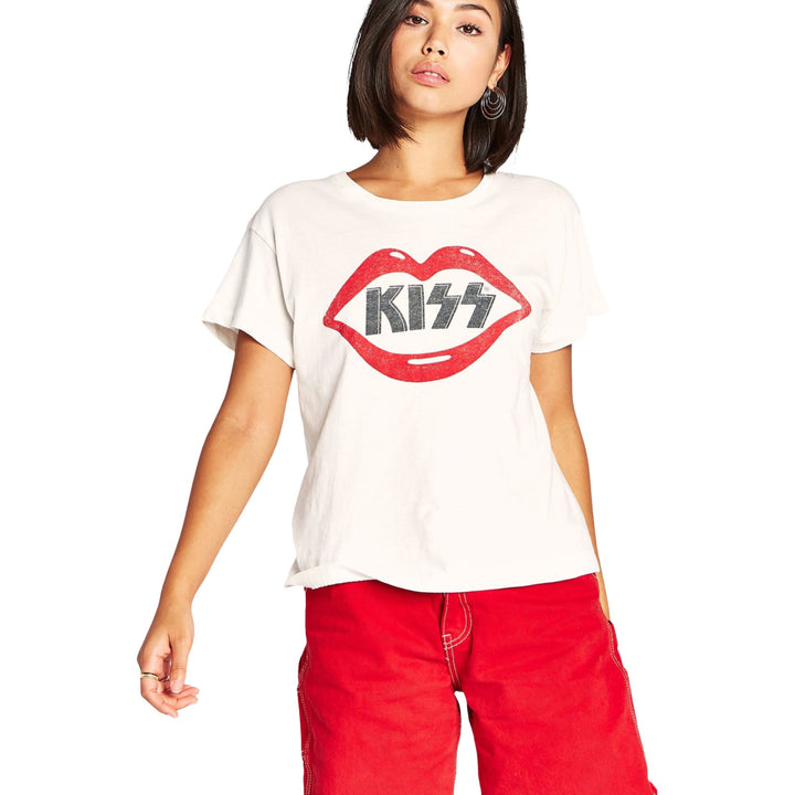 Short Sleeve Kiss Lips Tour Tee