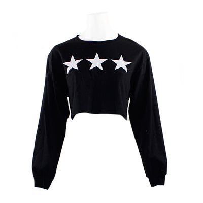 3 Star Crew Sweatshirt