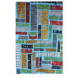 Camp Sports Words Towel