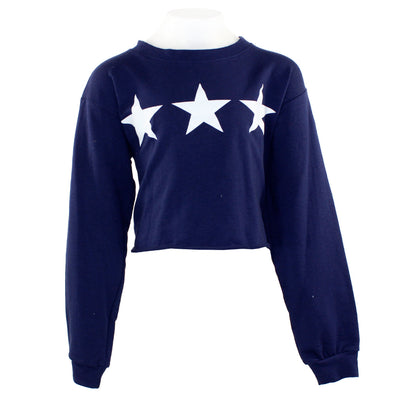 Crop Top with Three Star