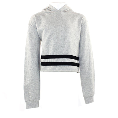 Long Sleeve Hoody with Chest Stripe