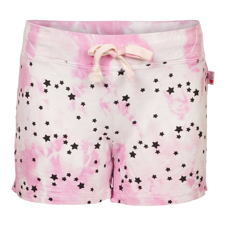 Allover Star Tie Dye Short