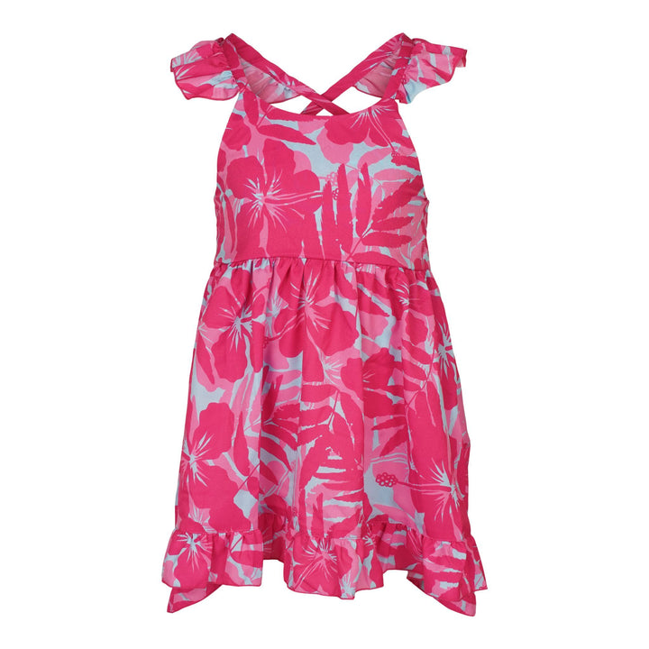 Hibiscus Bloom Angelika Dress