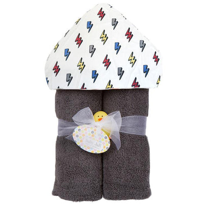 Lightning Bolt Hooded Towel
